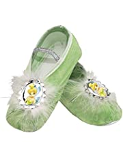 Girls Disney Tinkerbell Ballet Slippers