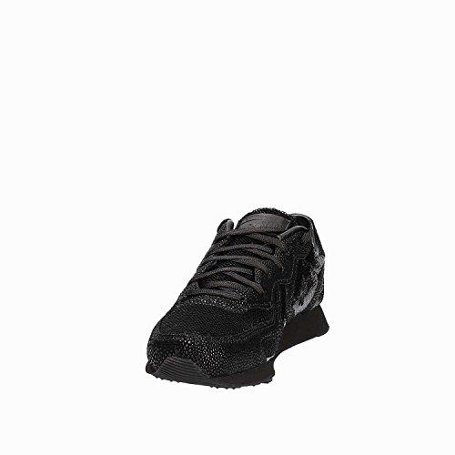 Basse Auckland Nero Ginnastica Scarpe Black Black Black da Lifestyle Racer Ox Converse 001 Donna R5xqS606