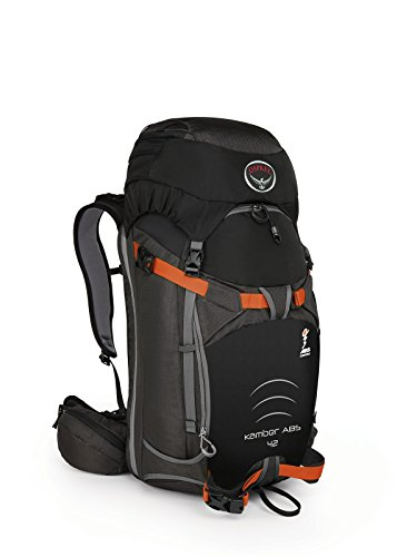 (Osprey Packs Kamber ABS Compatible 42 Ski Pack, Black, Small/Medium)