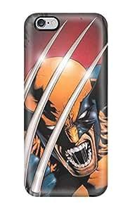 New Tpu Hard Case Premium Iphone 6 Plus Skin Case Cover(wolverine)