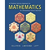 A Problem Solving Approach to Mathematics for Elementary School Teachers, Billstein, Rick and Libeskind, Shlomo, 0201384086