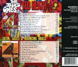 Big Ones / Satin Saxes & Bouncing Brass by Dutton Vocalion UK