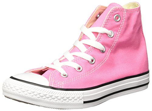 Converse Girls Chuck Taylor All Star Pink Sneaker  	13.5 M US Little -