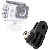 DURAGADGET High Quality Straight Joint - Compatible with the Eken H9 | H8 | H3 Action Cameras