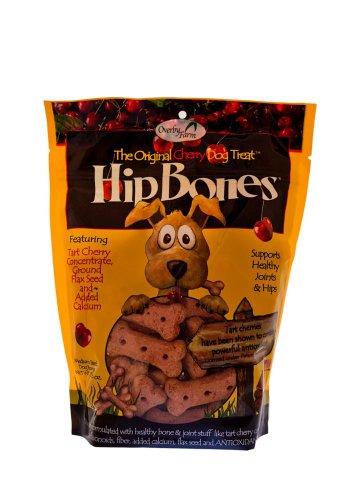 Overby Farm Hip Bones Cherry Dog Treats, 17.6 Ounce, My Pet Supplies