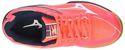 Mizuno Unisex Niños Lightning Star Z3 Jnr Zapatillas de Deporte Multicolore (FieryCoral/White/DressBlues)