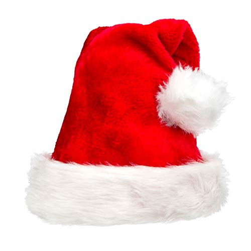 Christmas Hat, Santa Hat for Christmas,Fit for Adult/Children New Style,Thicker,Warmer