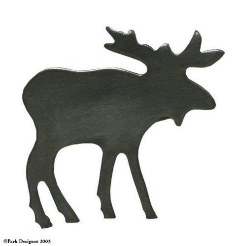 Moose Iron Napkin Ring- Set of 12