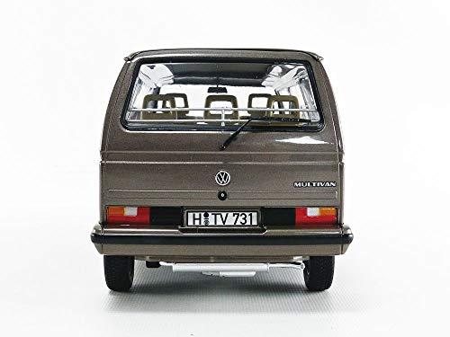 Norev 1990 VW Multivan Bus Bronze Metallic 1/18 Diecast Model Car 188543