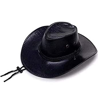 caoot cowboy hat red dead 2 bush cowboy style jazz hat classic western outback brown black. Black Bedroom Furniture Sets. Home Design Ideas