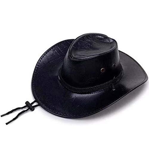 ZXTY Cowboy Hat Red Dead 2 Bush Cowboy hat for Men and Women Arthur Black/Brown -