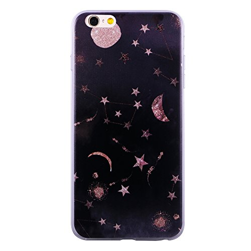 Ultra Slim Link - For iPhone 6/iPhone 6s Case, ZQ-Link® Ultra Slim Soft TPU Case Cover Protective Bumper for Apple iPhone 6/iPhone 6s 4.7 Inch Constellations Design