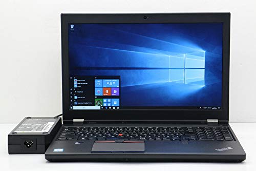 【中古】 lenovo ThinkPad P50 Core i7 6820HQ 2.7GHz/8GB/120GB(SSD)/15.6W/FHD(1920x1080)/Win10/Quadro M1000M   B07JJBKXXW