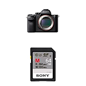 Sony a7S II ILCE7SM2/B 12.2 MP E-Mount Camera with Full-Frame Sensor, Black from SOAB9