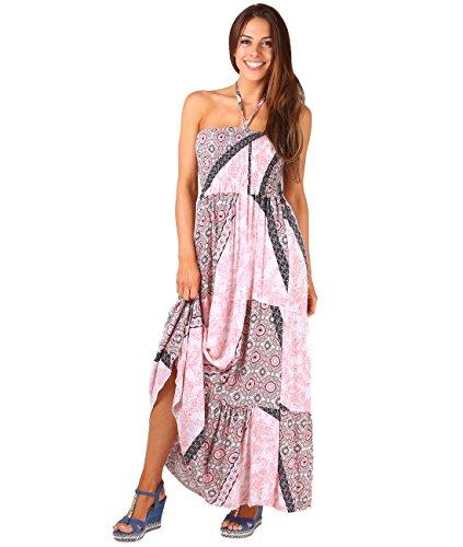 70s pink dress - 6