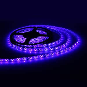 GJY Waterproof 5M 300x3528 SMD Blue Light LED Strip Lamp (12V)