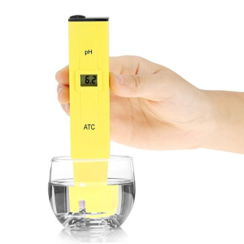 MULGORE Digital PH Meter Pen Water Quality Tester with ATC 0 ~ 14.0 pH Range