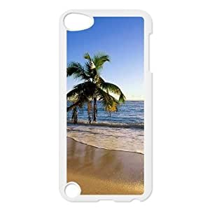 Beach Design Discount Personalized Hard Case Cover for iPod Touch 5, Beach iPod Touch 5 Cover