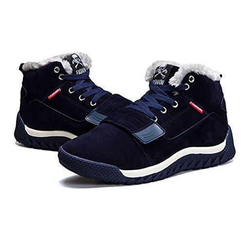 Sneaker Da All'aperto Uomo top Scarpe Caldi Sneakers Foderato 39 Invernali Preso Passeggiata 44 Scarpe Invernali High Casuale Trekking Sportive tqAOgP