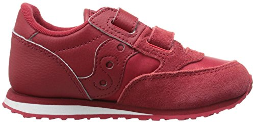 Saucony Boys Baby Jazz H and L Sneaker (Toddler),Red,6 M US Toddler