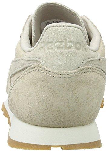 Clean Chalk Stone Chaussures Gris de Exotics Reebok Sand Femme LTHR Stucco Cl Gum Gymnastique TgqaSa