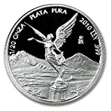 2010 1%2F20 oz Proof Silver Mexican Libe