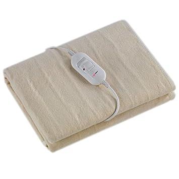 Manta Electrica 150 X 80.Sinotech Manta Electrica Individual Lavable Con Dos