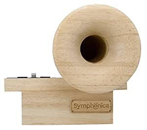 Symphonica Passive Acoustic Horn Speaker for iPhone / wood iPhone speaker / wood iPhone dock / wood iPhone stand needs no electricity - Beautiful Style for your Beautiful Sounds