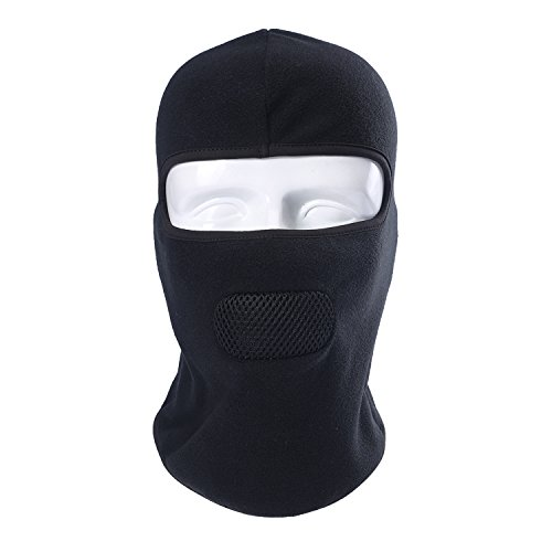 le Balaclava Hat Thermal Insulated Mask for Motorcycling Snowmobiling Snowboarding Skiing Helmet Black ()