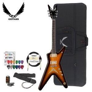 Dean Guitars Chicago Series ML-CF-TBZ-KIT-1 Chicago Flame Electric Guitar Kit (Dean Ml Chicago compare prices)