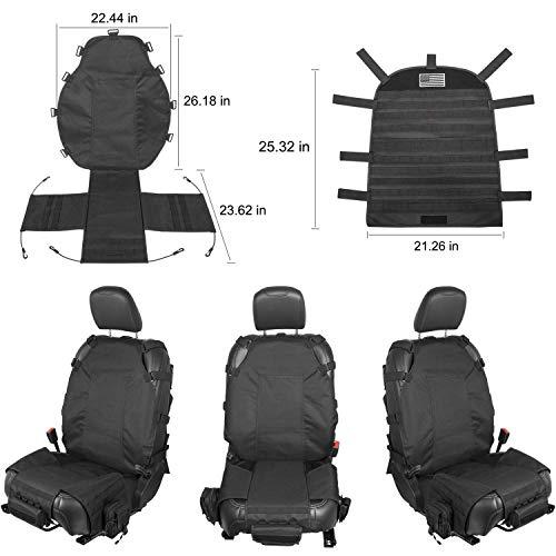 Front Seat Cover Case Organizer Storage Holder Pockets for Dodge Ram 1500 2500