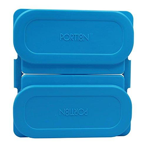 BariWare Portion8 Plate Set Brilliant Blue 853013004011