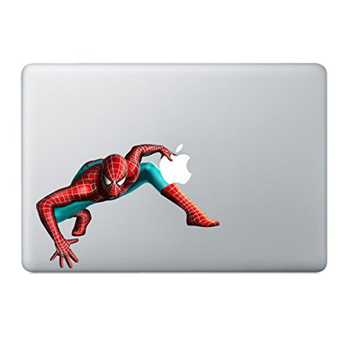 Spiderman Marvel Comic Macbook Stickers Decal For Laptop Computer Wall Removable 3D Vinyl Pro Skin 13 ()