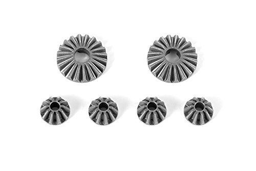 Steel Diff Bevel Gear - Xray Steel Diff Bevel & Satellite Gears - V2 (2+4)