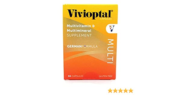 Amazon.com: Vivioptal Multivitamin/Multimineral German Formula 30 Capsules: Health & Personal Care
