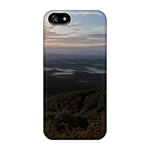 5/5s Scratch-proof Protection Case Cover For Iphone/ Hot Blue Ridge Foothills Phone Case