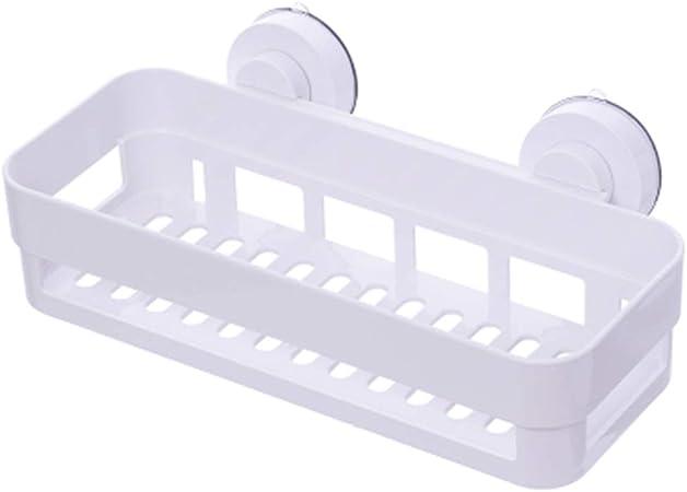 WSWJJXB Aspirador de baño Rack Lavabo Pared de succión Rack de ...