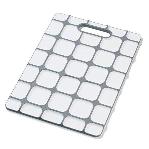 Joseph Joseph Grip-Top Non-Slip Cutting Board, White]()