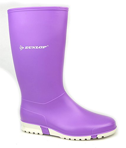 Ladies Dunlop Dunlop Sport Purple Wellington Sport Wellington Ladies wg44RqrO