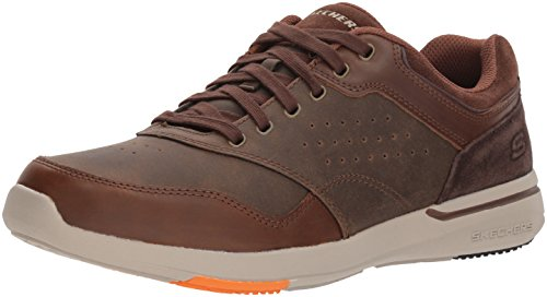 en's Relaxed Fit-Elent-Velago Oxford,14 M US,brown ()