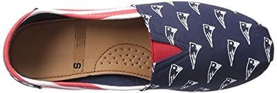 NFL Women's Canvas Stripe Shoes