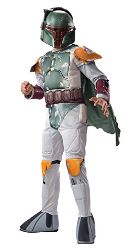 Star Wars Boba Fett Boys' Deluxe Costume
