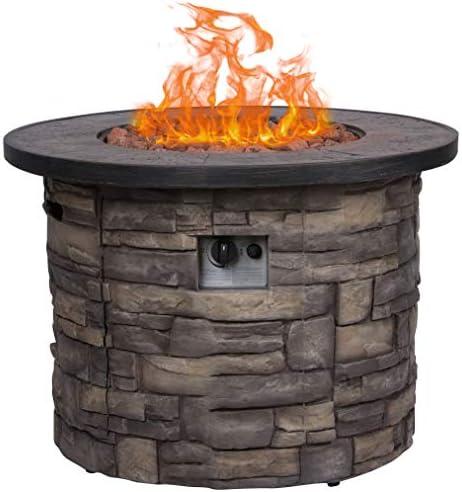 Shine Company 6101SC Sevilla Gas Fire Pit