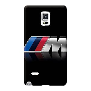 Durable Hard Cell-phone Cases For Samsung Galaxy Note 4 (GKz2363mIcs) Allow Personal Design HD Bmw M Logo Image
