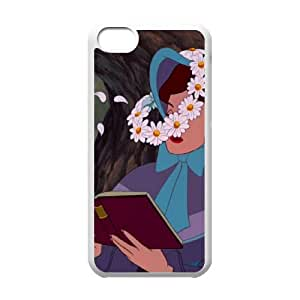 iPhone 5c Cell Phone Case Covers White Alice in Wonderland Character Alice's Sister WUF Custom Customized Phone Case