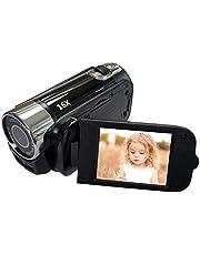 Digitale camcorder-videocamera 1080p Full HD 270° rotatie groothoek-vlogging-camera recorder, 1080p mini DV videocamcorder voor kinderen, beginners, jongeren