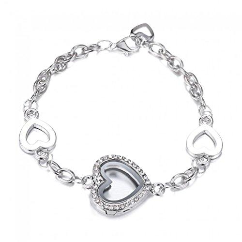 Rinhoo Stainless Rhinestone Living Bracelets product image