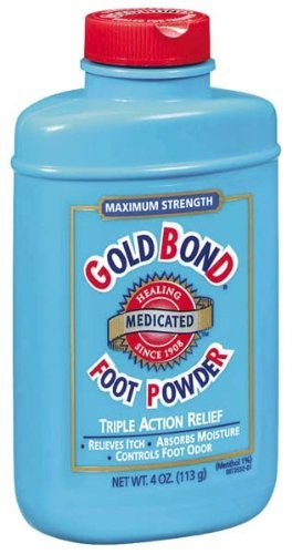 Gold Bond Foot Powder Medicated 4 oz. Pack of 6 by Gold Bond