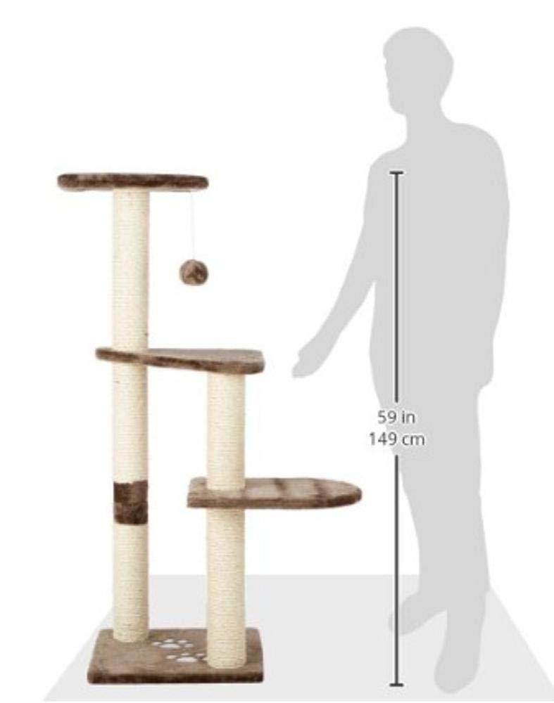 Deluxe Multi Cat Tower Cat Play Towers Cat Tree Pet 40  117  40cm Plush