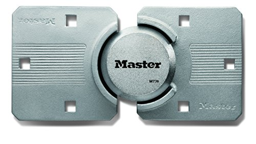 Master Lock Candado, Magnum Hidden Shackle Lock and Hasp, M736XKAD